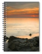 Sea Sunset Spiral Notebook