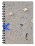 Sea Swag - Dark Blue Spiral Notebook