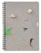 Sea Swag - Green Spiral Notebook
