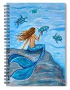Sea Turtle Friends Spiral Notebook