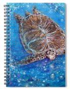 Sea Turtle Mr. Longevity Spiral Notebook