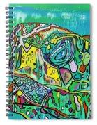 Sea Turtle Sam Spiral Notebook