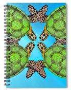 Sea Turtles Spiral Notebook