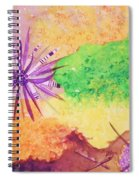 Sea Urchins - Abstract Spiral Notebook