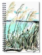 Sea View Spiral Notebook