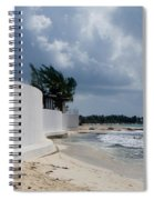 Sea Wall Spiral Notebook