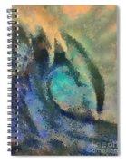 Sea Wave Spiral Notebook