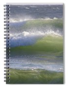 Sea Waves Spiral Notebook