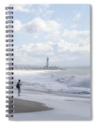 Seabright Beach Spiral Notebook
