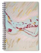 Seafoam And Violet Brown Spiral Notebook