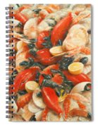 Seafood Extravaganza Spiral Notebook