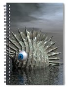 Seafood For Lunch Spiral Notebook