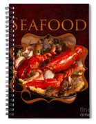 Seafood Gallery Spiral Notebook