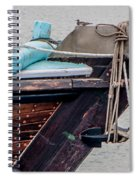 Seagul On A Dow's Bow Spiral Notebook