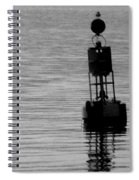 Seagull And Buoy Spiral Notebook