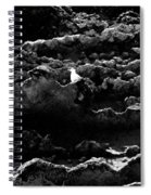 Seagull And Sandstone Spiral Notebook