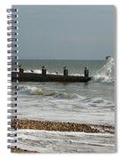 Seagull Groyne Spiral Notebook