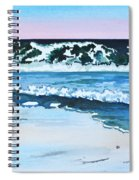 Seagull In The Sand Spiral Notebook