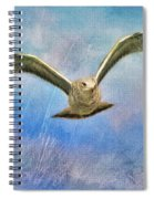 Seagull In The Storm Spiral Notebook