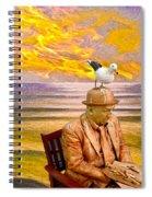 Seagull Man 6 Spiral Notebook