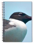 Seagull Portrait Spiral Notebook