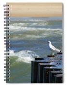 Seagull's Perch Spiral Notebook
