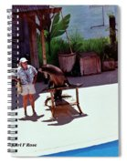 Seal And Trainer Spiral Notebook