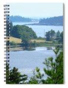 Seal Harbor Maine Spiral Notebook