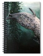 Seal In The Kelp Spiral Notebook