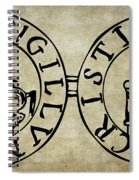 Seal Of The Knights Templar Spiral Notebook