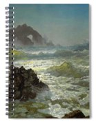 Seal Rock California Spiral Notebook