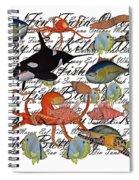 Sealife Dreamland IIi Spiral Notebook
