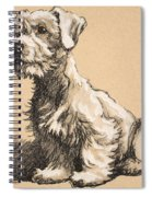 Sealyham Spiral Notebook
