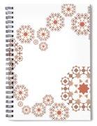 Seamless Retro Pattern Spiral Notebook