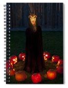 Seance Pumpkins Demon Spiral Notebook