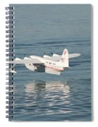 Seaplane Liftoff Spiral Notebook