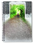 Searching Better Weather Spiral Notebook