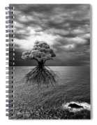 Searching For Land Spiral Notebook