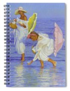 Searching For Shells Spiral Notebook