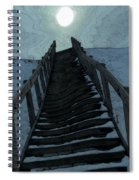 Searching For The Light Spiral Notebook