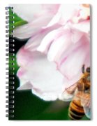 Searching Pink Flower Spiral Notebook