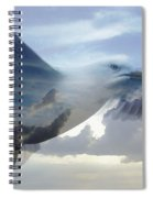Searching The Sea - Seagull Art By Sharon Cummings Spiral Notebook