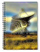 Searching The Stars Spiral Notebook