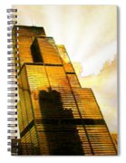 Sears Tower Breaking Dawn Spiral Notebook