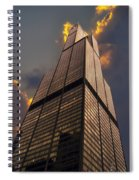 Sears Willis Tower Spiral Notebook