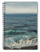 Seascape 1877 Spiral Notebook