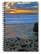 Seascape At Marthas Vineyard Spiral Notebook