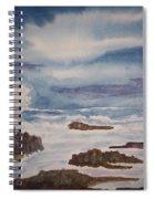 Seascape Five Spiral Notebook