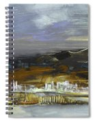 Seascape Impression In Spain 01 Spiral Notebook