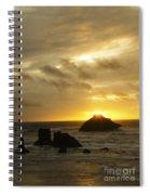 Seascape Oregon Coast 2 Spiral Notebook